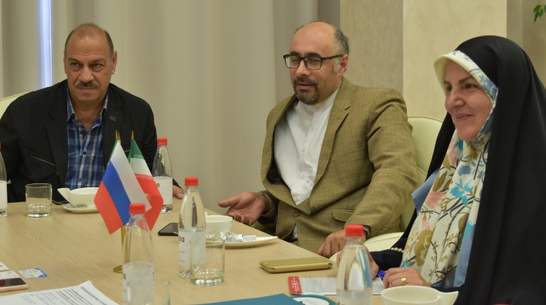 Taliya Minullina and Masoumeh Agapur on the development of partnership relations between Tatarstan and Iran