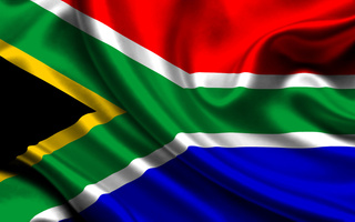 The faraway South Africa closes the range
