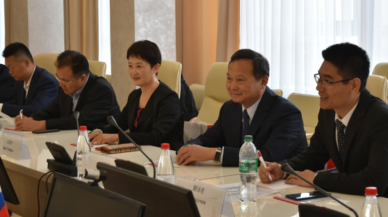 "Tatarstan-Shandong: investment in sports and development of ""peony culture"""
