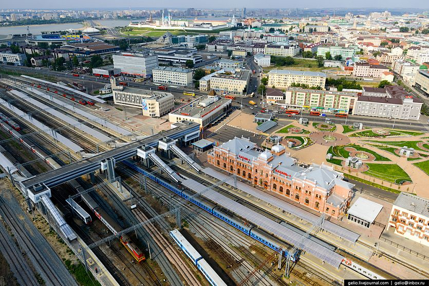 Direct freight train will be running from Kazan to China