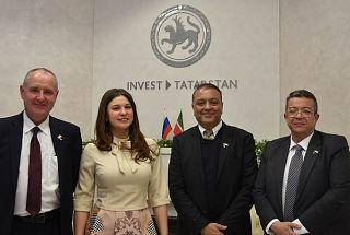 "The delegation of ""Al Habtoor Group"" visited Tatarstan Investment Development Agency"
