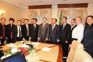 Chinese business mission in Russia