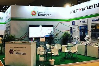 Tatarstan's Export Corporation represented the republic at INAPA Exhibition Indonesia in Jakarta