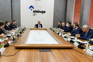 "The Supervisory Board of the SEZ ""Alabuga"" considered 5 projects worth more than 9 billion rubles"