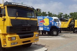 Kamaz started sales to South Africa