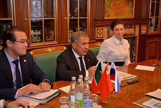 China-Tatarstan cooperation was discussed in Kazan Kremlin
