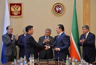 Close cooperation of Tatarstan and China