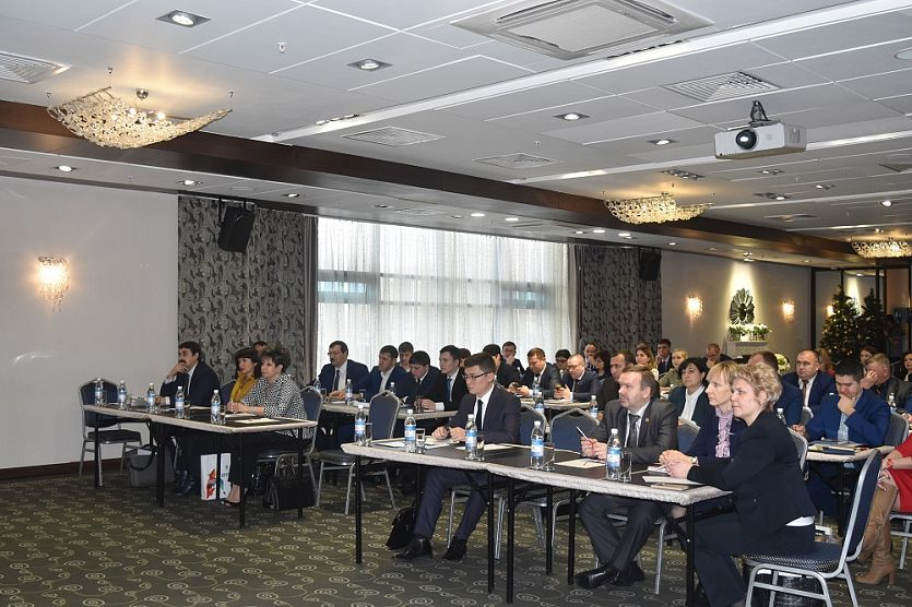 Heads of the districts of Tatarstan and entrepreneurs played a business game