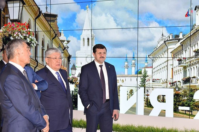 Tatarstan Investment Development Agency was attended by the delegation of Kyzylorda region of Kazakhstan
